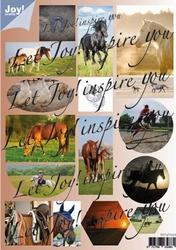 Joy! A4 Stansvel 6013-0332 Paarden