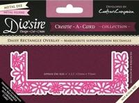 Diesire Create a Card DS-CADO-DAR Daisy Rectangle Overlay