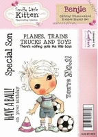 Scruffy Little Kitten A6 Unmounted Rubber Stamp Benjie