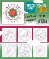 Stitch & Do Cards only COSTDO10012 set 12