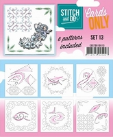 Stitch & Do Cards only COSTDO10013 set 13