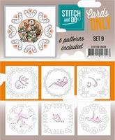 Stitch & Do Cards only COSTDO10009 set 09