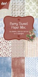 Joy! Papierblok 6011-0316 Berry sweet