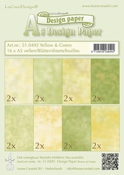 LeCreaDesign papier 510492 yellow/green