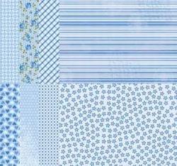 A4 Vel Nellie's Background Neva11235 Blue assortiment