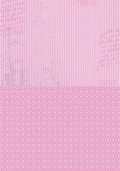 A4 Vel Nellie's Background Neva009 Pink stripes