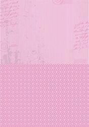 A4 Vel Nellie's Background Neva009 Pink stripes
