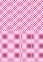 A4 Vel Nellie's Background Neva007 Pink squares