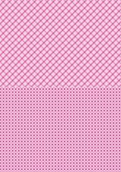 A4 Vel Nellie's Background Neva007 Pink squares