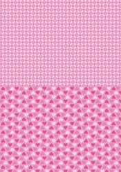 A4 Vel Nellie's Background Neva006 Pink hearts