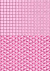 A4 Vel Nellie's Background Neva006 Pink hearts