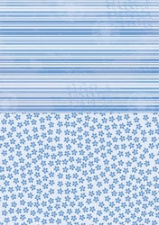 A4 Vel Nellie's Background Neva015 Blue flowers