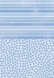 A4 Vel Nellie's Background Neva015 Blue flowers