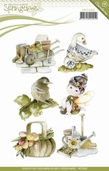 Precious Marieke's Clear Stamp PMCS10009 Springtime