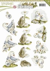 3D Stansvel Precious Marieke SB10085 Springtime  Animals