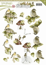 3D Stansvel Precious Marieke SB10081 Springtime Young Birds