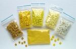 Mozaiek steentjes acryl 587 geel