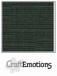 CraftEmotions 4-kant linnenkarton 1005 olijfgroen