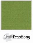 CraftEmotions 4-kant linnenkarton 1010 mosgroen
