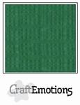 CraftEmotions 4-kant linnenkarton 1025 loofgroen