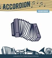 Music Serie Die MUSD10003 Accordion