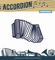Music Serie Die MUSD10003 Accordion