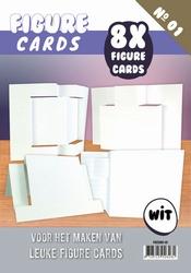 Figure Cards 1 FGCS001-01 Wit