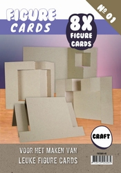 Figure Cards 1 FGCS001-45 Craft