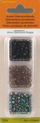 Trio Diamond Shape zwart/grij/iris