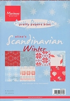 MD Pretty Paper Bloc PB7040 Eline's Scandinavian winter
