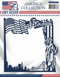 Die Amy Design America Collection USAD10002 America Frame