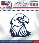 Die Amy Design America Collection USAD10003 Eagle