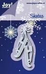 Joy Die Cutting & Embossing 2055 Oud hollandse schaatsen