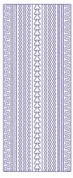 Stickervel Voorbeeldkaarten 3028 Diverse Randen