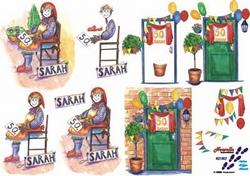 A4 Knipvel Le Suh  821507 Sarah / 50 jaar