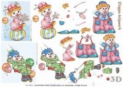 A4 Knipvel Le Suh  416903 Clowntjes