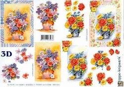 A4 Knipvel Le Suh 4169225 Boeket bloemen