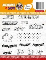 Clear Stamp Alexander de Grote ADGCS10001 Comic Cards