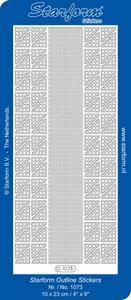 Sticker Starform 1073 Randjes & hoekjes