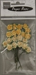 MD Paper Roses RB2213 yellow