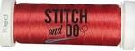 Stitch & Do 200 m Linnen SDCD13 Rood