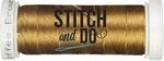 Stitch & Do 200 m Linnen SDCD12 Koffiebruin