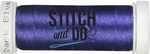 Stitch & Do 200 m Linnen SDCD30 Donker blauw