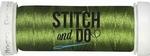Stitch & Do 200 m Linnen SDCD41 Mosgroen