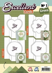 Excellent Cards 1 EXCC01 Green/groen