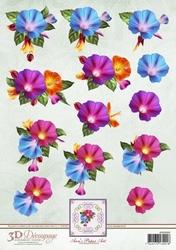 3D Knipvel Ann's Paper Art APA3D009 Morning Glory