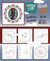 Stitch & Do Cards only COSTDO10016 set 16