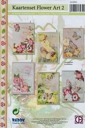 Creative Cards 85051 Reddy Flower Art 2