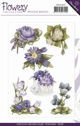 Precious Marieke's Clear Stamp PMCS10011 Flowery