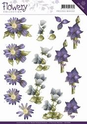 3D Knipvel Precious Marieke CD10669 Flowery Mixed flowers